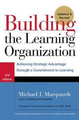Building the Learning Organization 3rd Edition 9781904838326 1904838324
