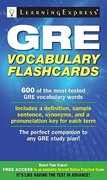 GRE Vocabulary Flash Cards 0 9781576857816 1576857816
