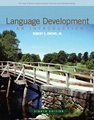 Language Development 8th Edition 9780132582520 013258252X
