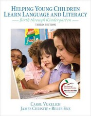 Helping Young Children Learn Language and Literacy 3rd Edition 9780132316361 0132316366