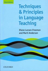 Techniques and Principles in Language Teaching 3rd Edition 9780194423601 0194423603