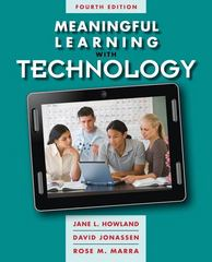 Meaningful Learning with Technology 4th Edition 9780132565585 0132565587