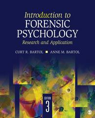 Introduction to Forensic Psychology 3rd Edition 9781412991759 1412991757
