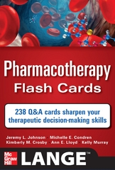 Pharmacotherapy Flash Cards 1st edition 9780071741156 0071741151