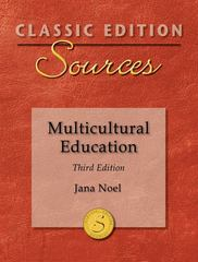 Classic Edition Sources: Multicultural Education 3rd edition 9780078026218 0078026210