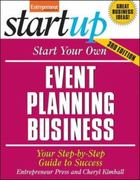 Start Your Own Event Planning Business 3rd Edition 9781613080795 1613080794