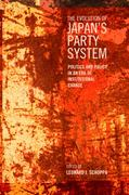 The Evolution of Japan's Party System 1st Edition 9781442611672 1442611677