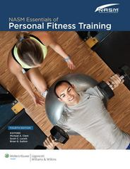 NASM Essentials of Personal Fitness Training 4th edition 9781608312818 160831281X