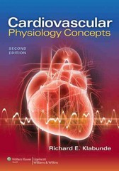 Cardiovascular Physiology Concepts 2nd Edition 9781451113846 1451113846