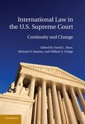 International Law in the U. S. Supreme Court 0 9780521119566 0521119561