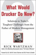What Would Drucker Do Now?: Solutions to Today's Toughest Challenges from the Father of Modern Management 1st Edition 9780071762205 0071762205