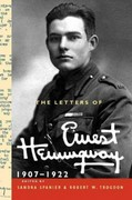 The Letters of Ernest Hemingway, 1907-1922 0 9780521897334 0521897335