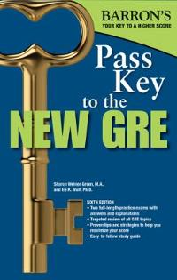 Pass Key to the New GRE 6th edition 9780764147333 0764147331