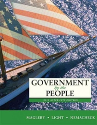 Government by the People, 2011 Alternate Edition 24th edition 9780205828456 0205828450