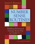 Number Sense Routines 1st Edition 9781571109019 1571109013