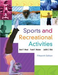 Sports and Recreational Activities 15th Edition 9780078022487 0078022487