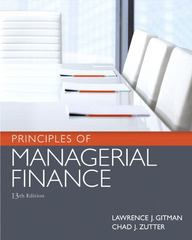 Principles of Managerial Finance 13th edition 9780136119463 0136119468