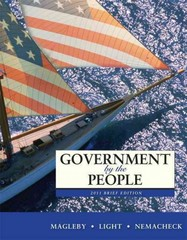 Government by the People, 2011 Brief Edition 9th edition 9780205806706 0205806708