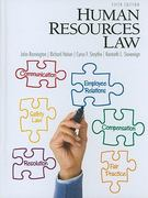 Human Resources Law 5th Edition 9780132568890 0132568896