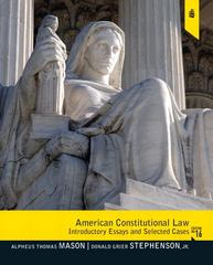 American Constitutional Law 16th edition 9780205108992 0205108997