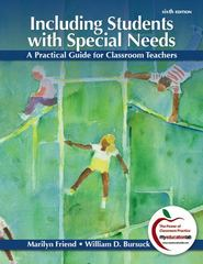Including Students with Special Needs 6th Edition 9780132179720 0132179725