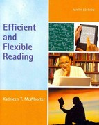 Efficient and Flexible Reading (with MyReadingLab with Pearson eText Student Access Code Card) 9th edition 9780205785216 0205785212