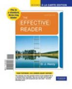 The Effective Reader, Books a la Carte Edition 3rd edition 9780205074327 0205074324