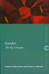 Gender: The Key Concepts 1st Edition 9780415669627 0415669626