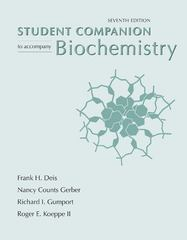 Biochemistry Student Companion 7th Edition 9781429231152 1429231157