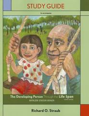 The Study Guide for Developing Person Through the Life Span 8th edition 9781429232043 1429232048