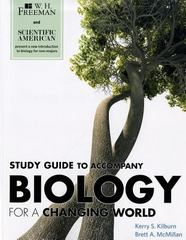 Scientific American Biology for a Changing Word 0 9781429232586 1429232587