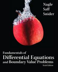 Fundamentals of Differential Equations and Boundary Value Problems 6th edition 9780321747747 0321747747