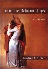 Intimate Relationships 6th Edition 9780078117152 0078117151