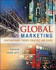 Global Marketing 1st Edition 9780078029271 0078029279