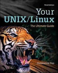 Your UNIX/Linux 3rd Edition 9780073376202 0073376205