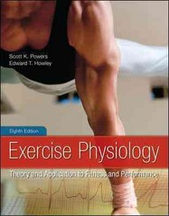 Exercise Physiology 8th Edition 9780078022531 0078022533