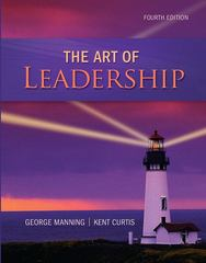 The Art of Leadership 4th edition 9780078029080 0078029082