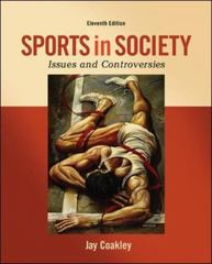 Sports in Society 11th Edition 9780078022524 0078022525