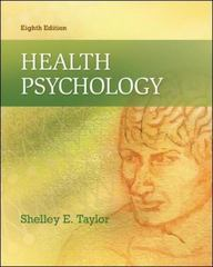 Health Psychology 8th Edition 9780078035197 0078035198