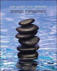 Strategic Management 6th edition 9780078029318 0078029317