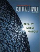 Loose Leaf Edition Fundamentals of Corporate Finance 7th edition 9780077410728 0077410726