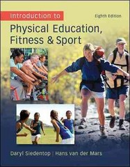 Introduction to Physical Education, Fitness, and Sport 8th Edition 9780078095771 0078095778