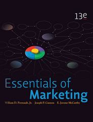 Essentials of Marketing with Connect Plus 1st Edition 9780077893040 0077893042