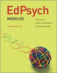 EdPsych 2nd edition 9780078097867 007809786X