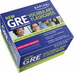 Kaplan New GRE Vocabulary Flashcards 3rd edition 9781607148531 1607148536