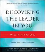 Discovering the Leader in You Workbook 1st Edition 9780470605318 0470605316
