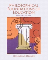 Philosophical Foundations of Education 9th Edition 9780132540742 0132540746