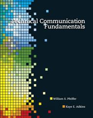 Technical Communication Fundamentals 1st edition 9780132374576 0132374579
