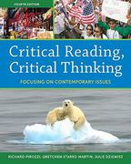 Critical Reading Critical Thinking 4th edition 9780205100156 0205100155