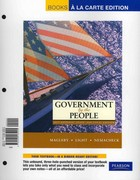 Government by the People, 2011 National, State, and Local Edition, Books a la Carte Plus MyPoliSciLab -- Access Card Package 24th edition 9780205165063 0205165060